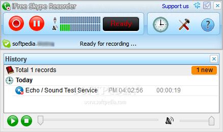 تحميل برنامج تسجيل مكالمات السكايب iFree Skype Recorder