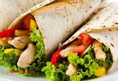 Resep Cara Membuat Kebab Turki Enak Lezat (Turkish Kebab Recipe)