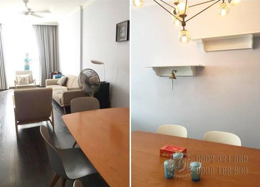 Căn hộ 3PN The Prince Residence - view phòng