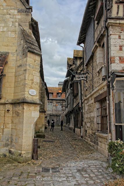 ulica Więzienna w Honfleur