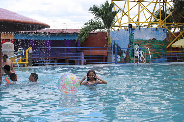 Swimming pool in Casa Elum Resort, Bulacan