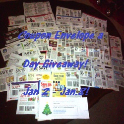 DAY 4 – Coupon Envelope A Day Giveaway!