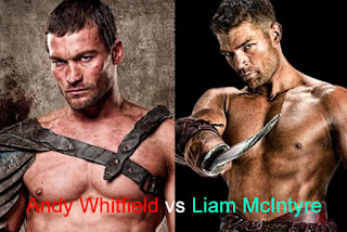 Andy Whitfield vs Liam McIntyre