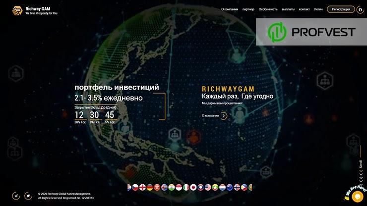 RichwayGAM обзор и отзывы HYIP-проекта