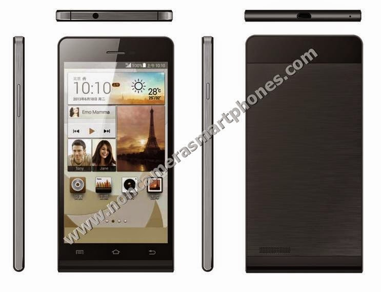 Dupad Story P6-E1 Dual Sim Android Non Camera Phablet Black Color Front Back Side Top Bottom Photos Images Review