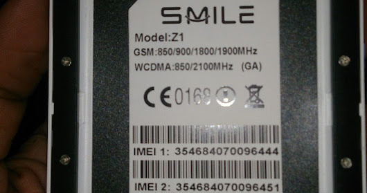 Smile Z1 MT6580 1GB Official Firmware 100%