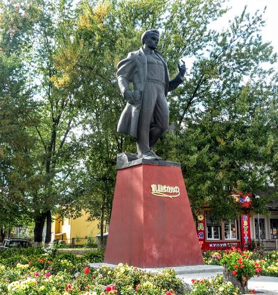 Турка. Пам'ятник Т. Г. Шевченку (1990 р.)