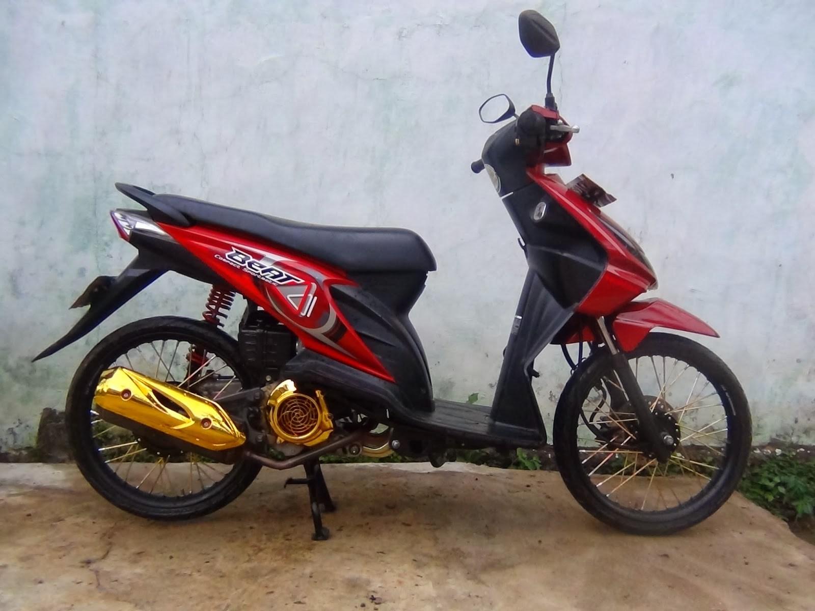 Variasi Motor Beat Pop  Modifikasi Yamah NMAX