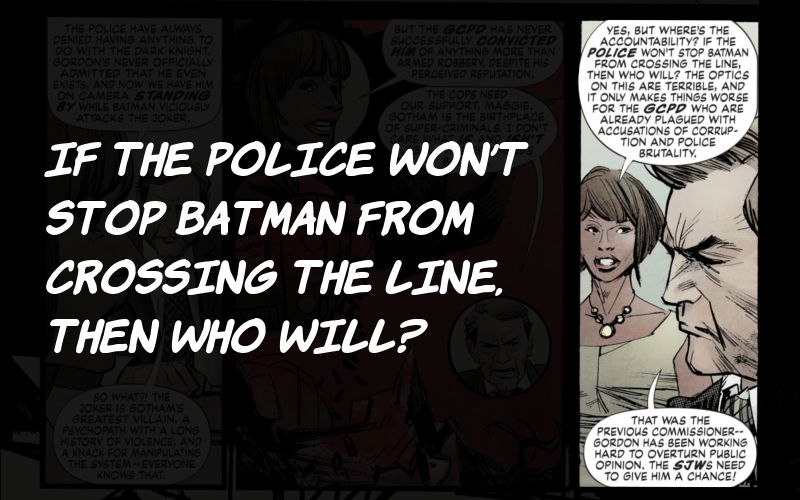 Batman: White Knight, Politik Joker Mengkriminalkan Batman - MERAK