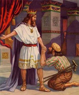 A bondade de Davi - um tipo da graça de Deus