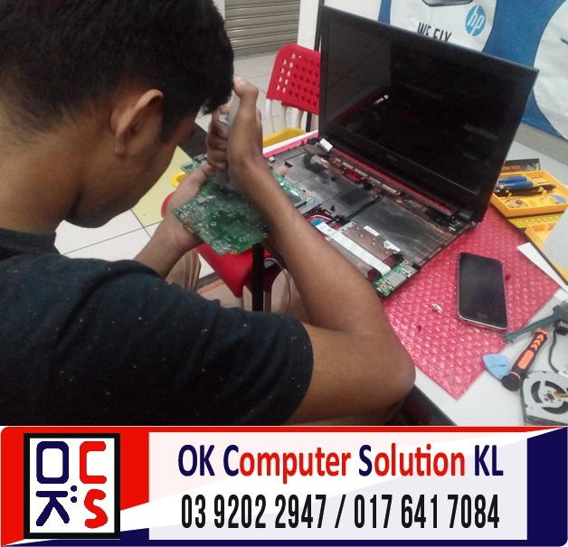 [SOLVED] DELL INSPIRON 14 TAK BOLEH ON | REPAIR LAPTOP CHERAS 6
