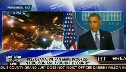 9050162fa41e4 FREEDOM EDEN  Obama Ferguson Split Screen