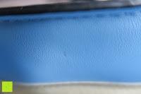 Material: Veevan Damen Elegante Top-Handle Schultertasche Handtaschen (Blau)