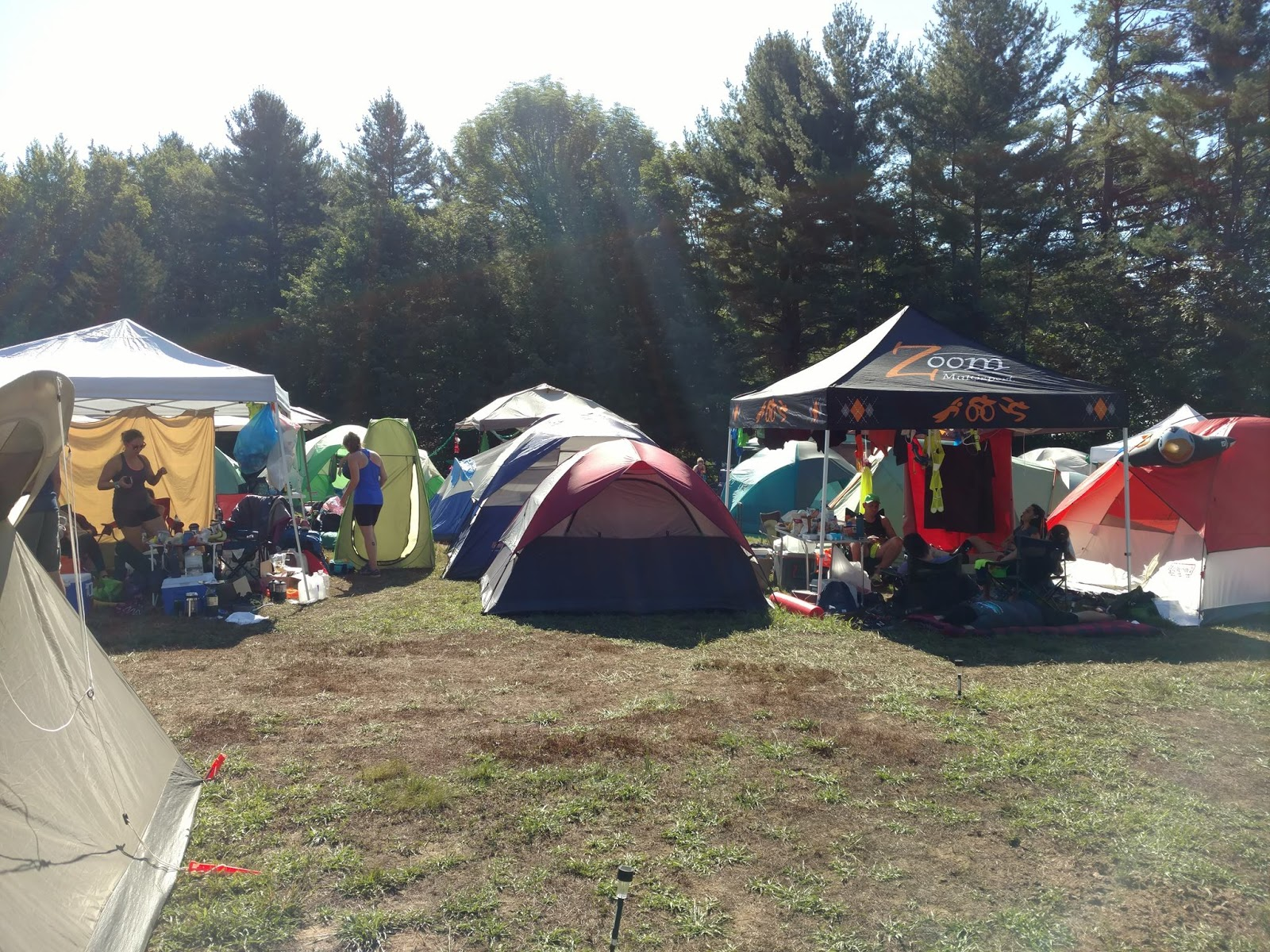 ... c&ing area up in the second field. The second field was located closer to the main festival area which meant a balance of better access to the ... & fill me with meaning: Ragnar Trail New England 2016