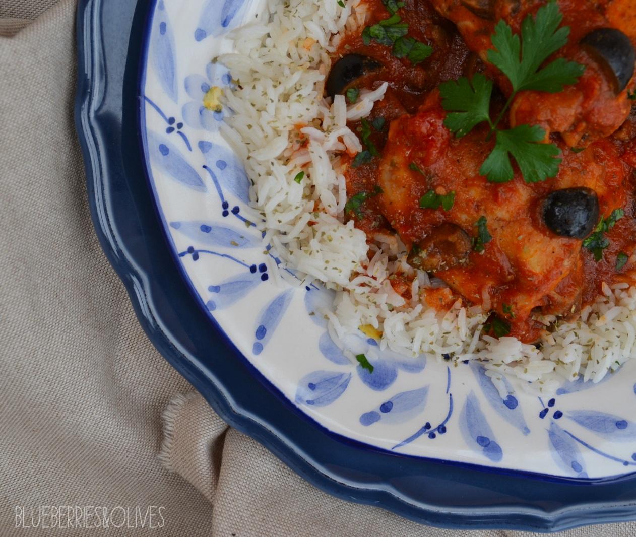 Pollo en salsa turca 5