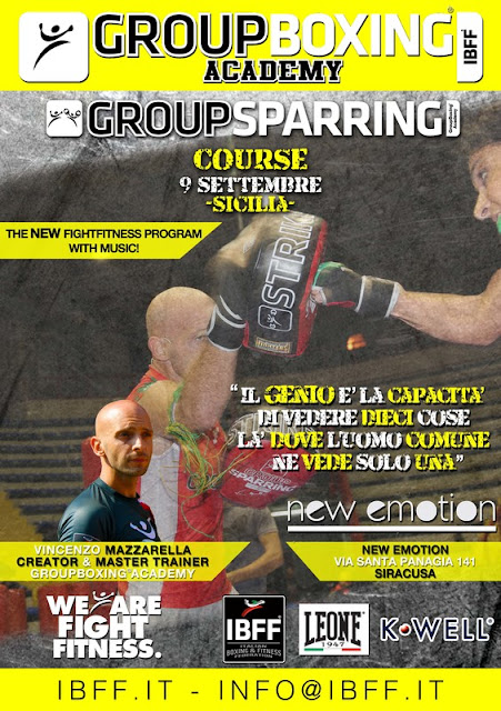 GroupSparring® in Sicilia, 09 settembre 2016 a Siracusa