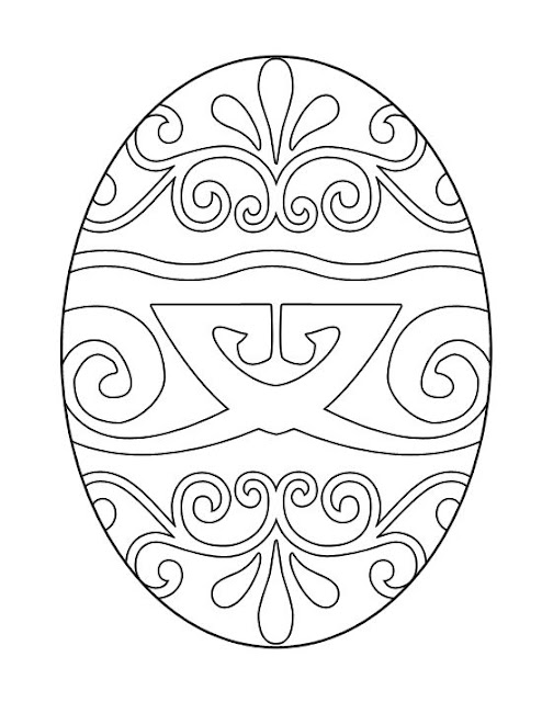 Easter Egg For COloring Free