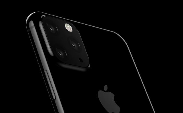 جهاز آيفون القادم 2019 يضم ثلاث كاميرات