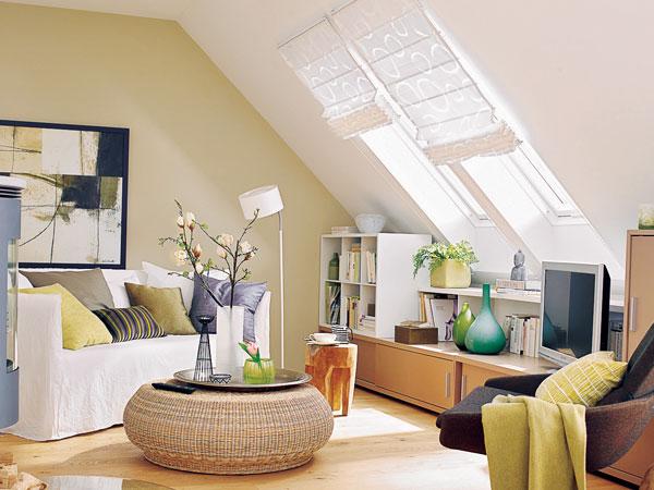 Çatı katı dekorasyon örnekleri 4