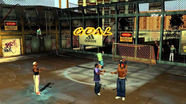 تحميل لعبة كرة الشوارع Freestyle street soccer للكمبيوتر برابط مباشر