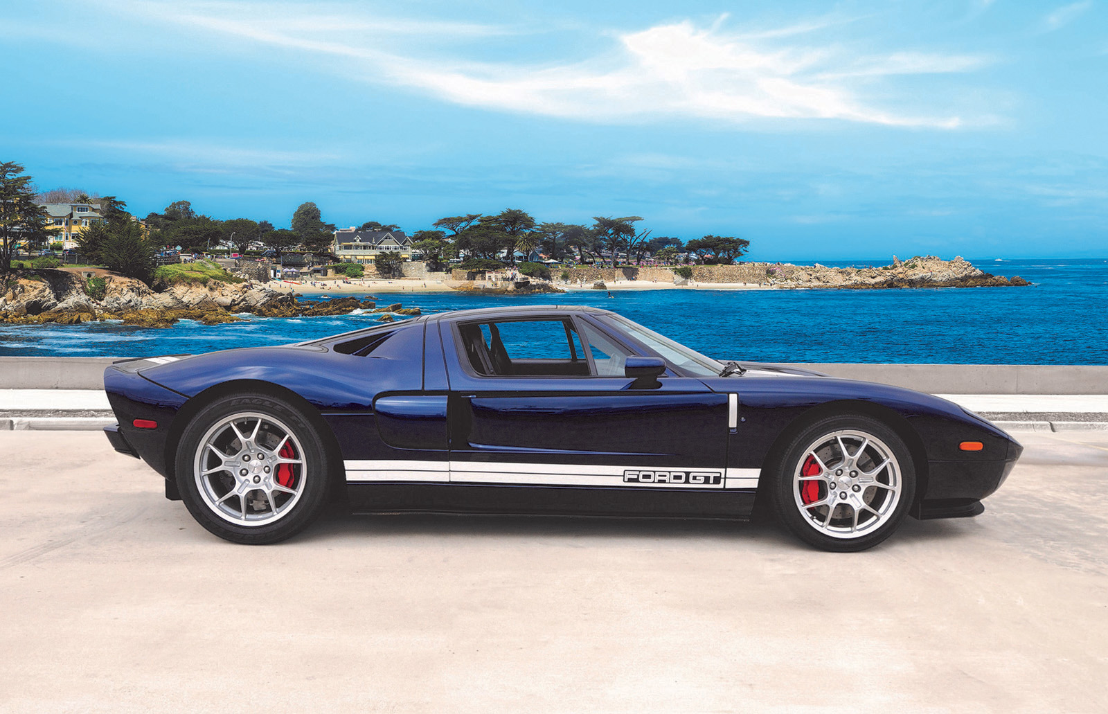 2004 Ford Gt Prototype Up For Auction
