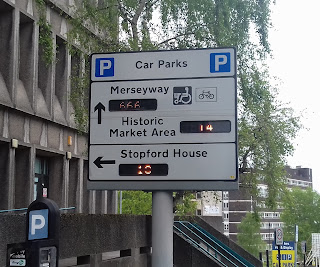 Merseyway Car Park in Stockport