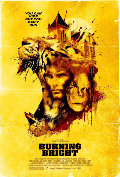 Poster of Burning Bright 2010 Dual Audio Full Movie In Hindi 720p BluRay Download