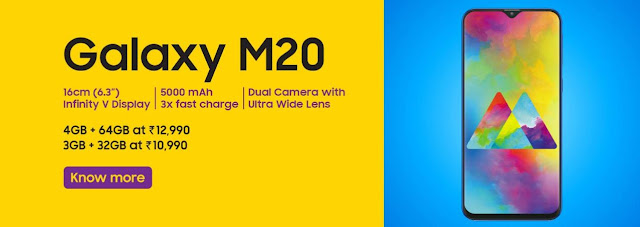 Samsung Galaxy M20 Price - Specifications - Offers