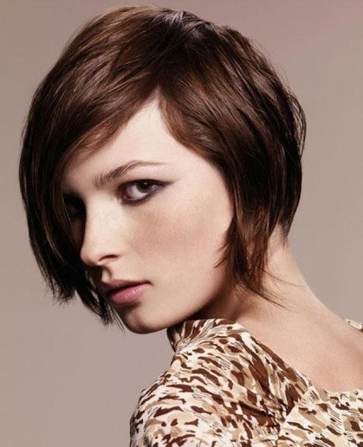 Medium Short Haircut Chin Length Hairstyles 2013