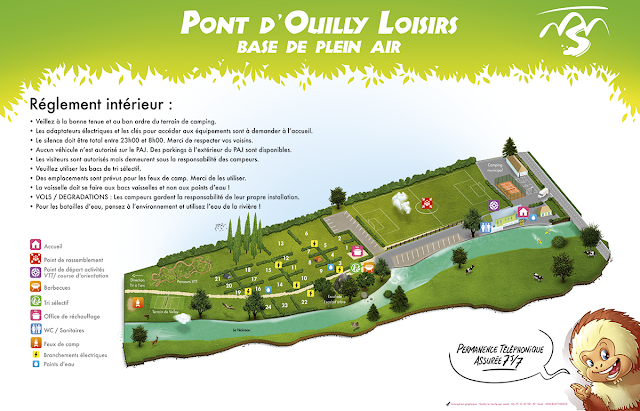 Fabrication d'une carte - plan - map