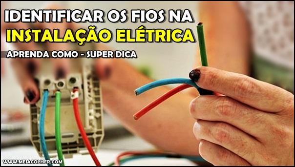 diferença dos fios elétricos