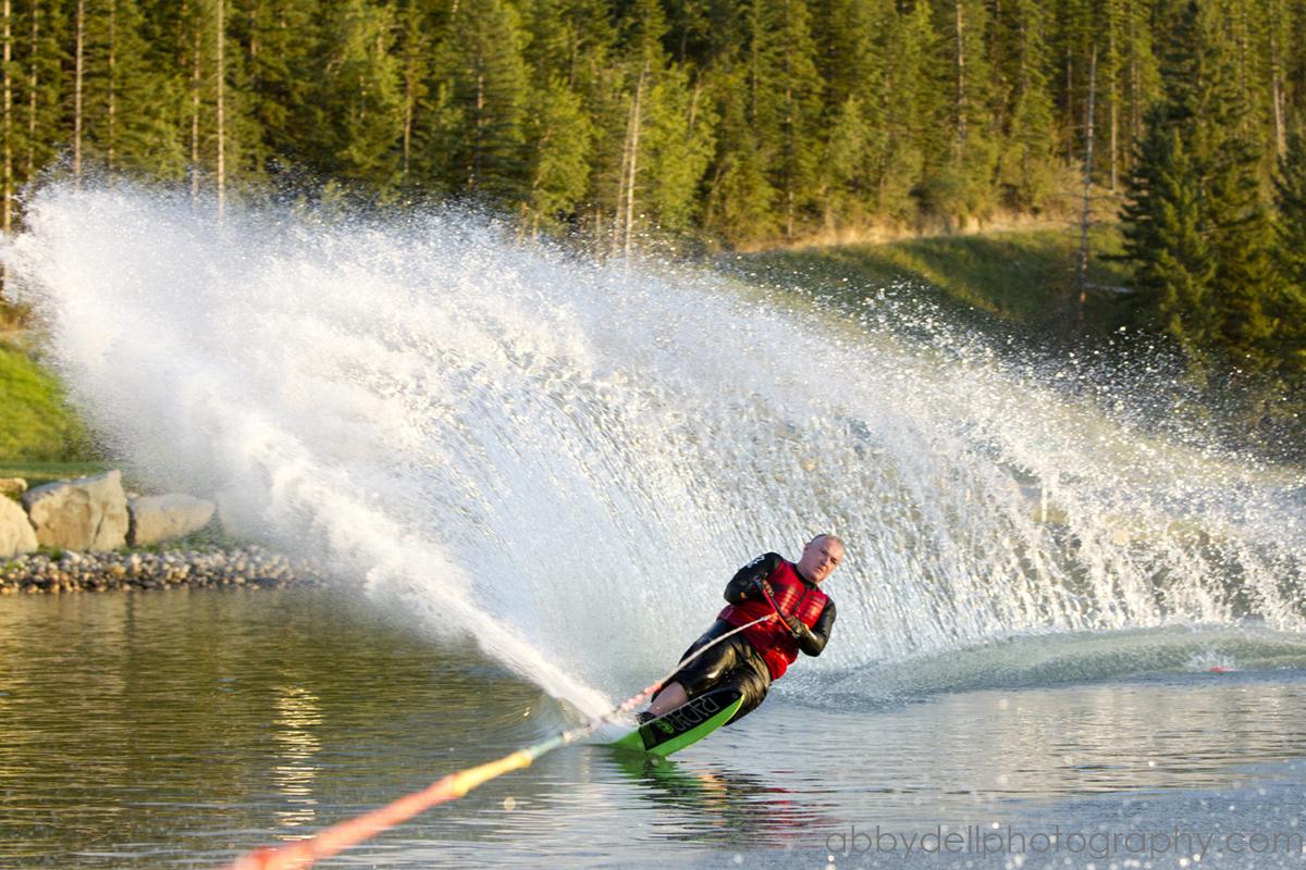 Slalom Skiing  Predator Bay Water Skiing Club  abbydell
