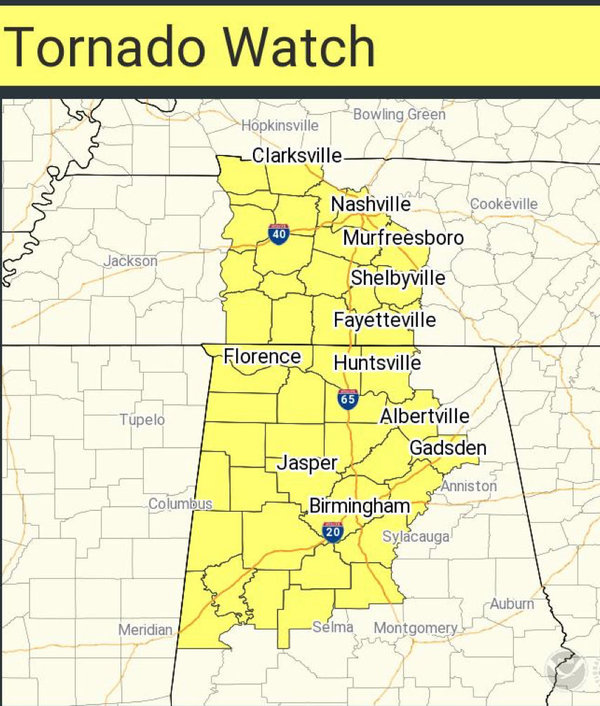 Mse Creative Consulting Blog Tornado Watch Tennessee And Alabama