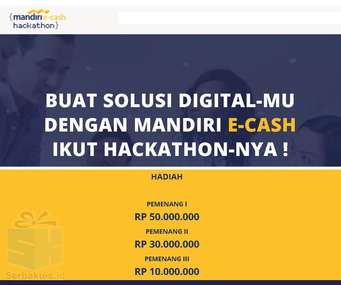 Kontes Aplikasi Mandiri e-cash Hackathon