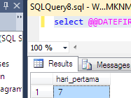 Configuration Function MS SQL Server