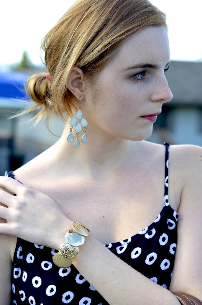 How to Style Chandelier Earrings