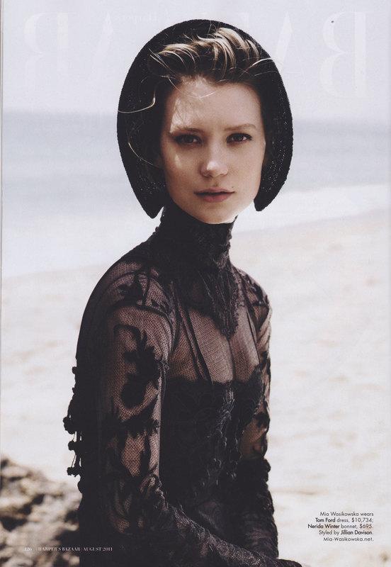 Being Glamorous: Harper's Bazaar Australia August 2011 ... | 552 x 800 jpeg 69kB