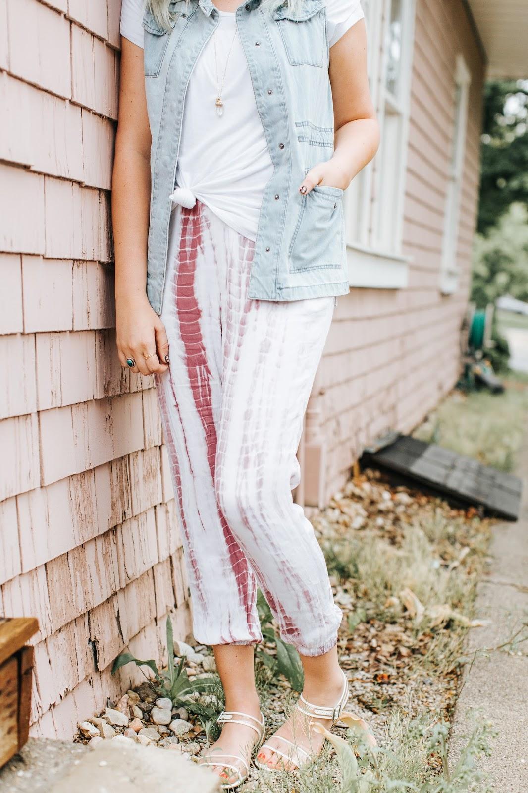 Tie Dye Pants, Comfortable Pants, Cute Pants