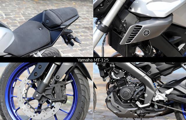 Duel Little Engine: Yamaha MT-125 Vs KTM Duke 125