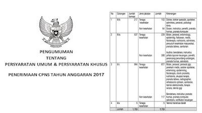 Seleksi CPNS 2017 Formasi Guru dan Umum Dibuka Pada Akhir Bulan Agustus 2017