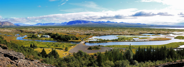 Panorámica de Þingvellir