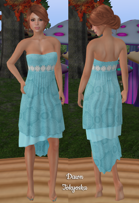 5f9db6f383cd First we have a lovely sleeveless gown from Emberotic's Fashion, their  Beach Dress in standard mesh sizes along with a fitmesh version.