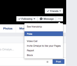 Poke someone on Facebook - How To