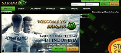Bandar Casino terbukti membayar SaranaBet.com