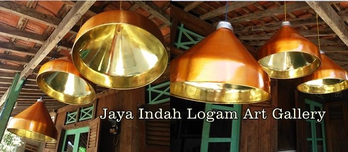 Lampu Gantung Kuningan Jaya Indah Logam