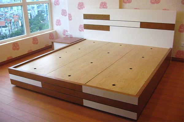 Ở đâu bán giường gỗ công nghiệp giá rẻ tại hà nội