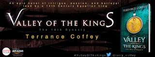 Schedule of Blog Tour: Valley of the Kings by Terrance Covey
