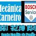 """MECÂNICA CARNEIRO É EXCLUSIVA """"BOSCH"""" NA REGIÃO!!!"""