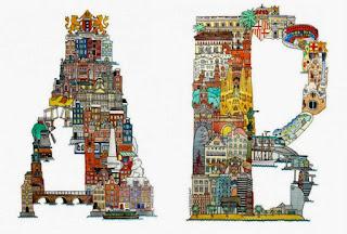 Alfabeto Inspirado en Ciudades del Mundo.
