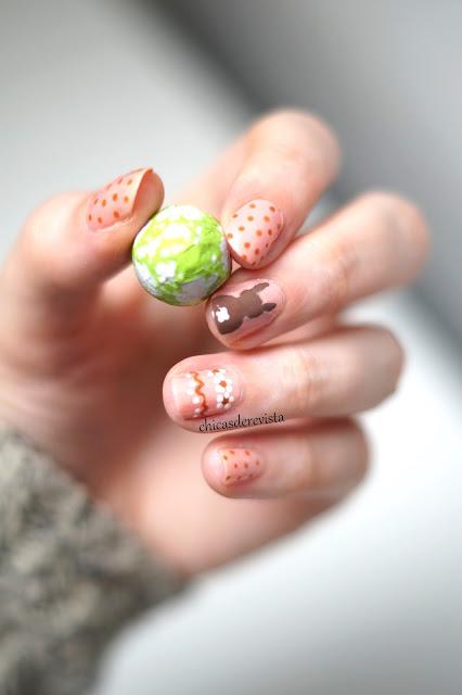 nail art easter 2018